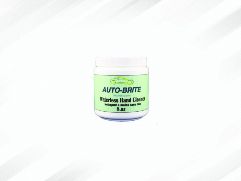 Auto-Brite's waterless hand cleaner