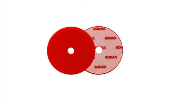 Sonax Red Dual Action Hard Cutting Pad (5.5' inch)