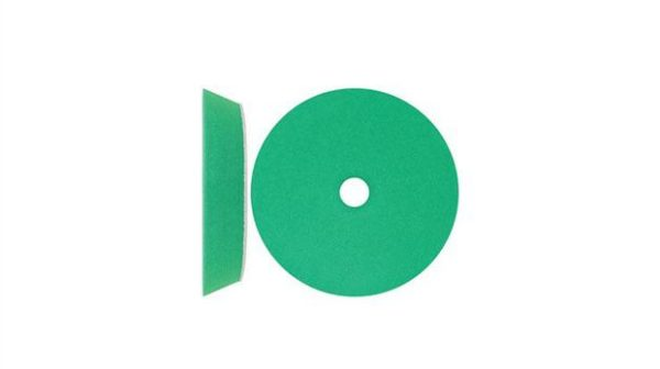 7 Inch Velocity Green Medium Cut Pad