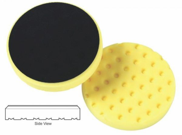 Lake Country 5.5 Yellow Heavy Cut Pad