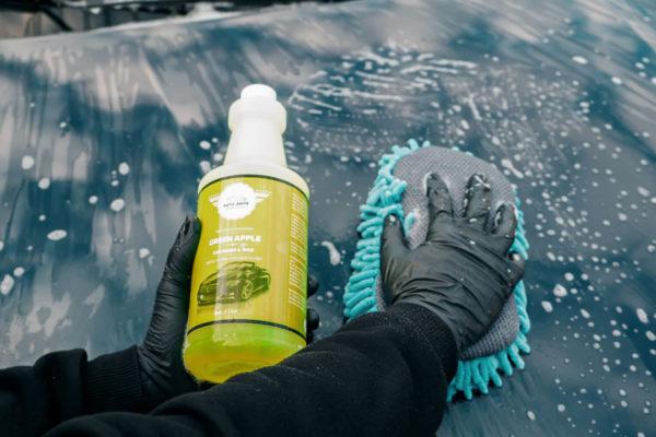 Auto-Brite Green Apple Wash and Wax