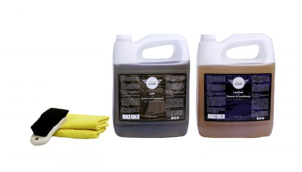 Leather Care Kit Gallon Size