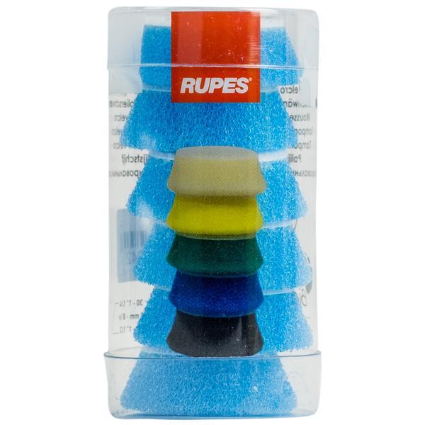 Rupes 1'' Blue Coarse Foam 6 Pack
